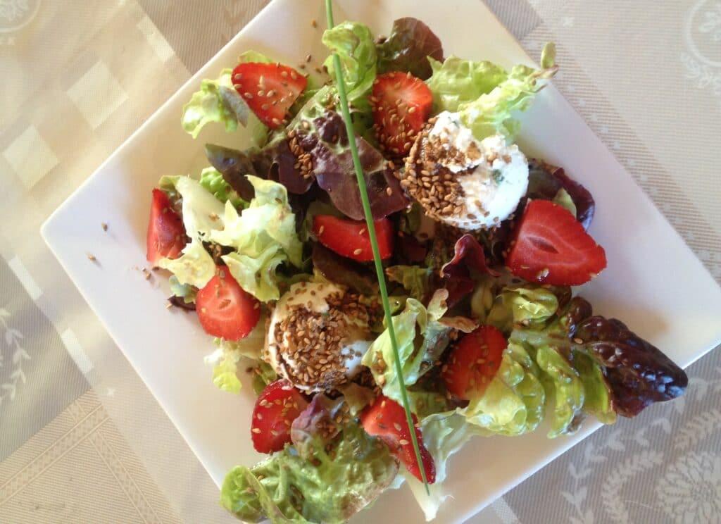 Salade Fraicheur fraise